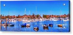 Promontory Point - Newport Beach Acrylic Print by Jim Carrell
