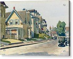 Prospect Street Acrylic Print by Edward Hopper