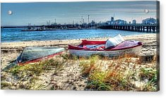 Provincetown Beach Acrylic Print by Susan Lee Giles
