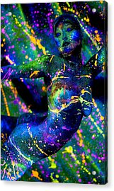 Psychedelic Dream Acrylic Print by Adam Chilson