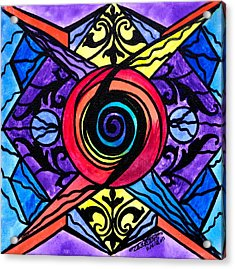 Psychic Acrylic Print by Teal Eye  Print Store