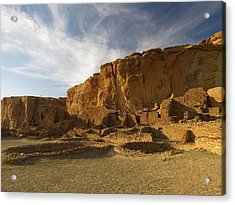 Pueblo Bonito Afternoon Acrylic Print by Feva  Fotos