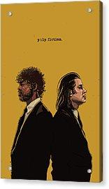 Pulp Fiction Acrylic Print by Jeremy Scott