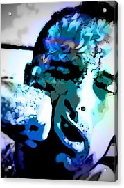 Punch To The Face Acrylic Print by Mj  Stone