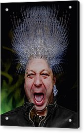 Punk Ratius Nuarb Acrylic Print by Nafets Nuarb