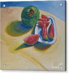 Pure Heart Acrylic Print by Vanessa Hadady BFA MA