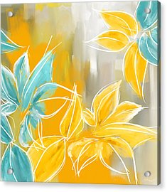 Pure Radiance Acrylic Print by Lourry Legarde