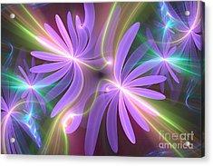 Purple Dream Acrylic Print by Svetlana Nikolova