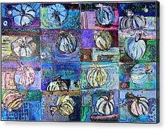 Purple Onions Acrylic Print by Mindy Newman