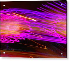 Purple Storm Acrylic Print by James Welch