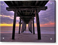 Purple Sunrise Acrylic Print by Dan Myers