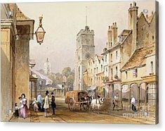 Putney High Street, 1837 Acrylic Print by British Library