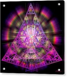 Pyramidian Acrylic Print by Michael Durst
