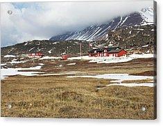 Qeqertarsuaq Arctic Station Acrylic Print by Mikkel Juul Jensen