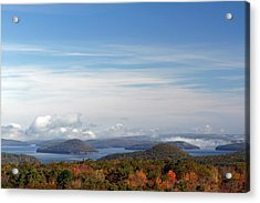 New England Acrylic Print featuring the photograph Quabbin Reservoir by Juergen Roth