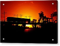 Qualcomm Station Acrylic Print by See My  Photos