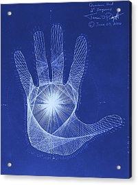 Quantum Hand Through My Eyes Acrylic Print by Jason Padgett