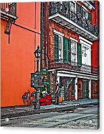 Quarter Time Painted 2 Acrylic Print by Steve Harrington