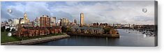 Queen City Skyline Acrylic Print by Peter Chilelli