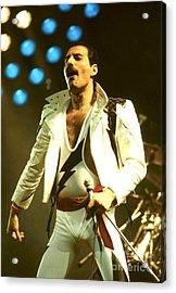 Queen - Freddie Mercury Acrylic Print by Concert Photos