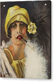 Queen Of Tarts Acrylic Print by Tom Shropshire