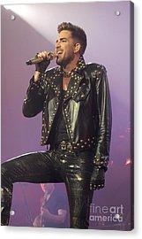 Queen Singer Adam Lambert Acrylic Print by Concert Photos