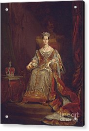 Queen Victoria Acrylic Print by Sir George Hayter