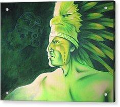 Quetzal Acrylic Print by Robert Martinez