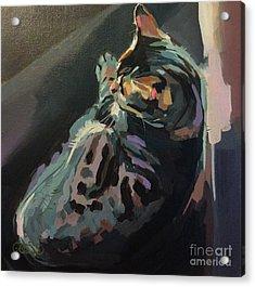 Quiet Acrylic Print by Kimberly Santini