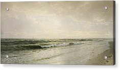 Quiet Seascape Acrylic Print by William Trost Richards