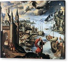 Quispe Tito, Diego 1611-1681. Christ Acrylic Print by Everett
