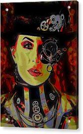 Ra Si Anna Acrylic Print by  Fli Art