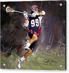 Rabil Lacrosse Acrylic Print by Scott Melby