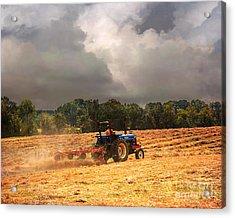Race Against The Storm Acrylic Print by Jai Johnson