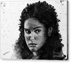 Rachel In Waiting Acrylic Print by Gary Bodnar