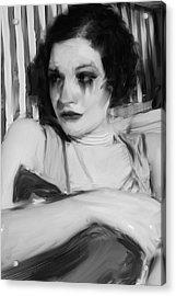 Rachel Jean Acrylic Print by H James Hoff