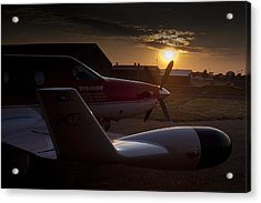 Radar Wing Acrylic Print by Paul Job