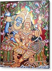 Radheshyam Acrylic Print by Jayashree