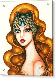 Radiant Acrylic Print by Tara  Shalton