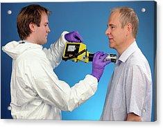 Radiation Exposure Monitoring Acrylic Print by Public Health England