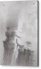 Radio Free Atlantis Acrylic Print by Mark  Reep