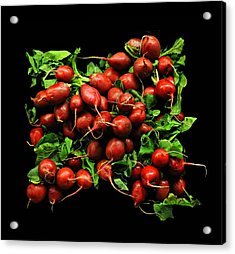 Radishes  Acrylic Print by Diana Angstadt
