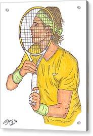Rafael Nadal Acrylic Print by Steven White