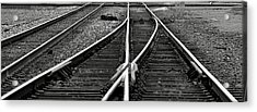 Railroad Highway Acrylic Print by Jason Drake