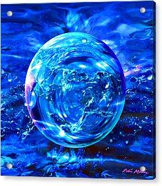 Rain Dance  Acrylic Print by Robin Moline