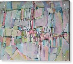 Rainbow Avenue Acrylic Print by Hari Thomas