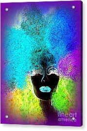 Rainbow Beauty Acrylic Print by Ed Weidman