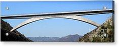 Rainbow Bridge Acrylic Print by Gregory Dyer