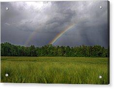 Rainbow Acrylic Print by Ivan Slosar