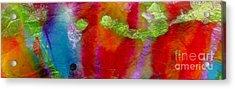 Rainbow Passion Acrylic Print by Angela L Walker